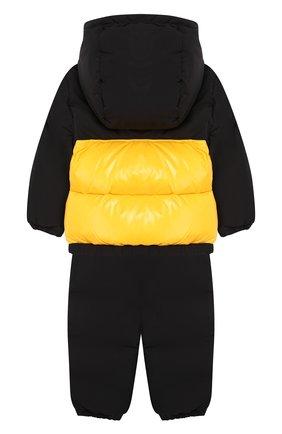 Комплект из пухового комбинезона и куртки | Фото №2