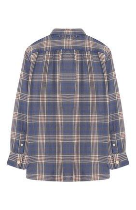 Хлопковая рубашка с воротником кент | Фото №2