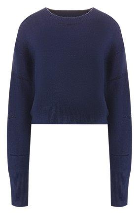 Пуловер со спущенным рукавом | Фото №1