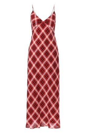 Шелковое платье Marc Jacobs красное | Фото №1