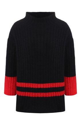 Пуловер с объемным воротником | Фото №1