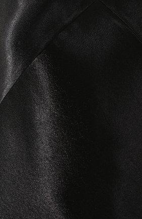 Платье на бретельках Vince черное | Фото №5