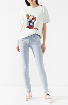 Женские джинсы-скинни CITIZENS OF HUMANITY голубого цвета, арт. 1416H-989 | Фото 2