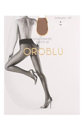 Женские капроновые колготки OROBLU бежевого цвета, арт. V0BC01415 | Фото 1