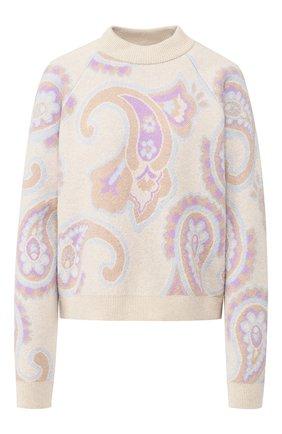 Пуловер из смеси шерсти и вискозы | Фото №1