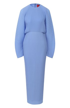 Платье с объемными рукавами | Фото №1
