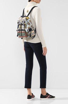 Женский рюкзак rucksack BURBERRY разноцветного цвета, арт. 4078770 | Фото 2