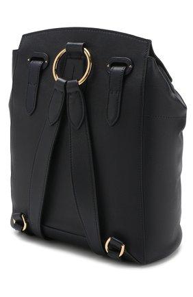 Рюкзак из кожи Ralph Lauren темно-синий | Фото №3
