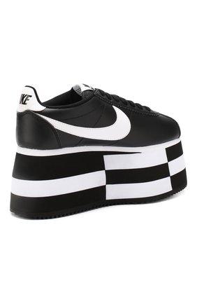 Кожаные кеды Cortez Comme des Garcons x Nike   Фото №4