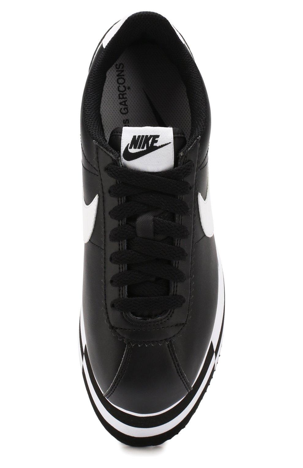 Кожаные кеды Cortez Comme des Garcons x Nike   Фото №5