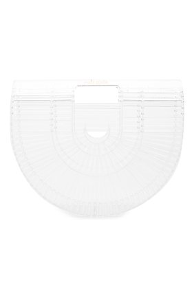 Женская сумка ark small CULT GAIA прозрачного цвета, арт. 20003ACT CLR | Фото 1