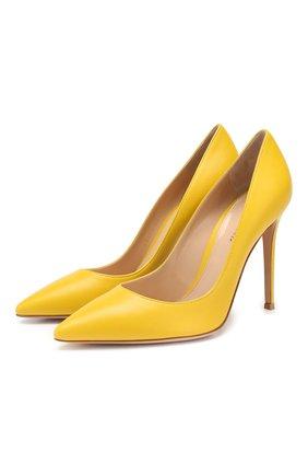 Кожаные туфли Gianvito 105 | Фото №1
