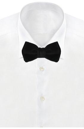 Мужской галстук-бабочка BOSS черного цвета, арт. 50401979 | Фото 2
