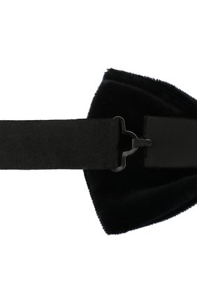 Мужской галстук-бабочка BOSS черного цвета, арт. 50401979 | Фото 3