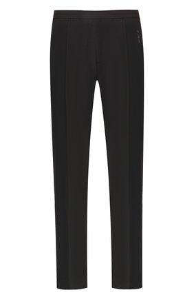 Мужской шерстяные брюки VALENTINO черного цвета, арт. RV3RBB45VUM | Фото 1
