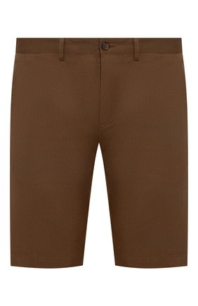 Мужские хлопковые шорты DOLCE & GABBANA хаки цвета, арт. GY6GMT/FUFIS | Фото 1