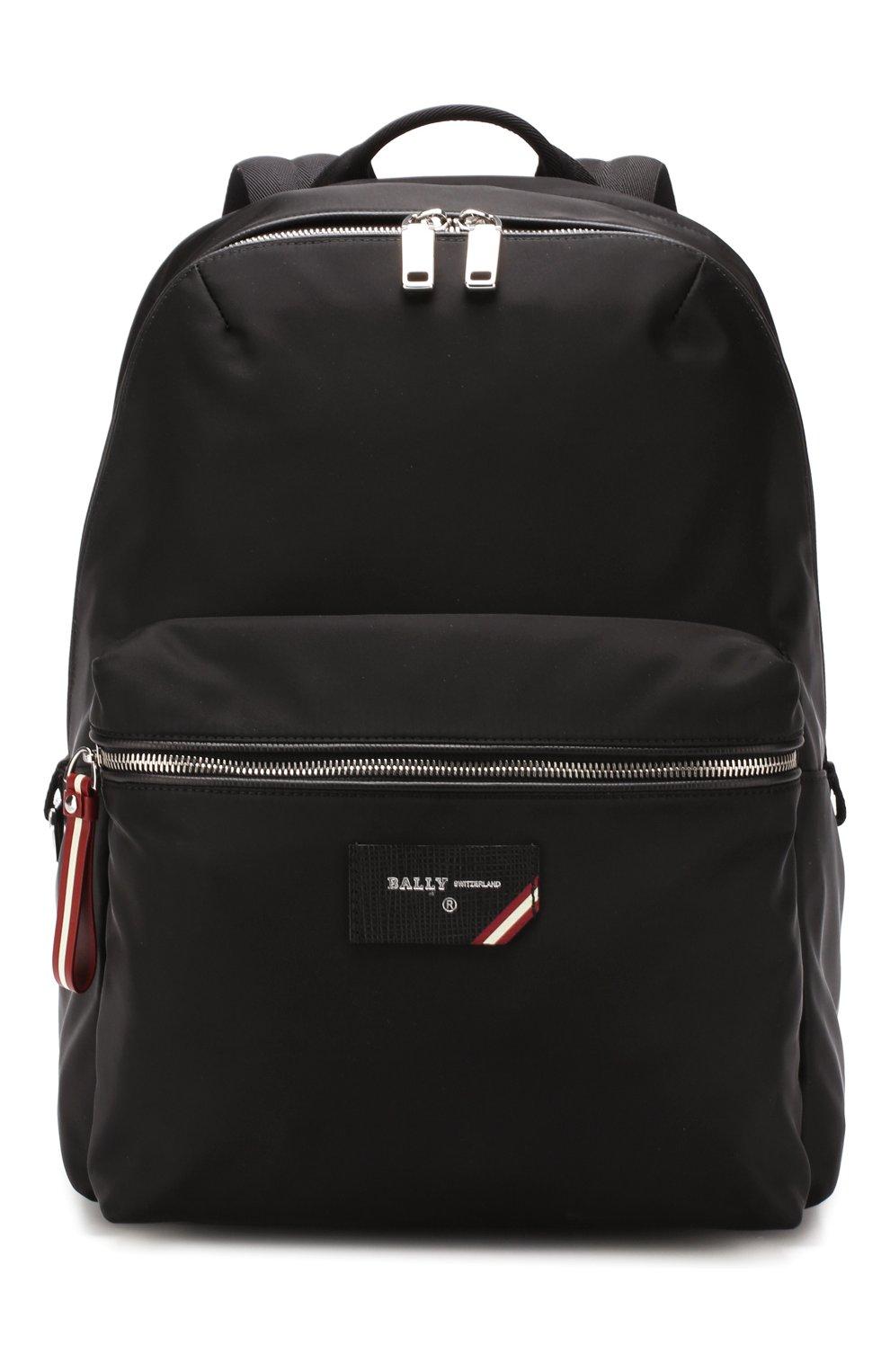 Мужской текстильный рюкзак explore BALLY черного цвета, арт. FEREY/00 | Фото 1