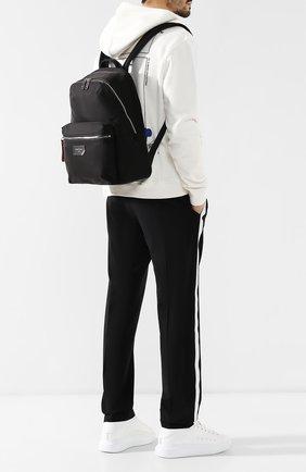 Мужской текстильный рюкзак explore BALLY черного цвета, арт. FEREY/00 | Фото 2