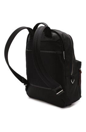 Мужской текстильный рюкзак explore BALLY черного цвета, арт. FEREY/00 | Фото 3