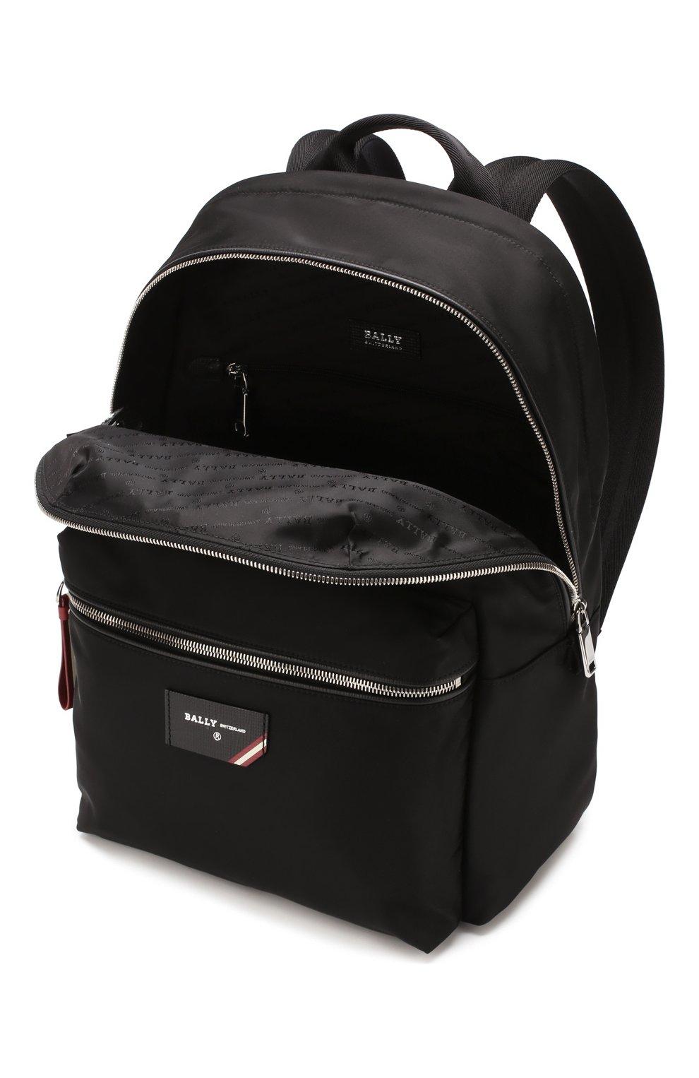 Мужской текстильный рюкзак explore BALLY черного цвета, арт. FEREY/00 | Фото 4