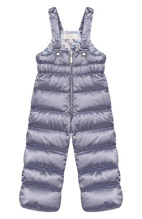 Детского комплект из пуховой куртки и комбинезона сиреневый сад CHEPE сиреневого цвета, арт. 392222   Фото 3
