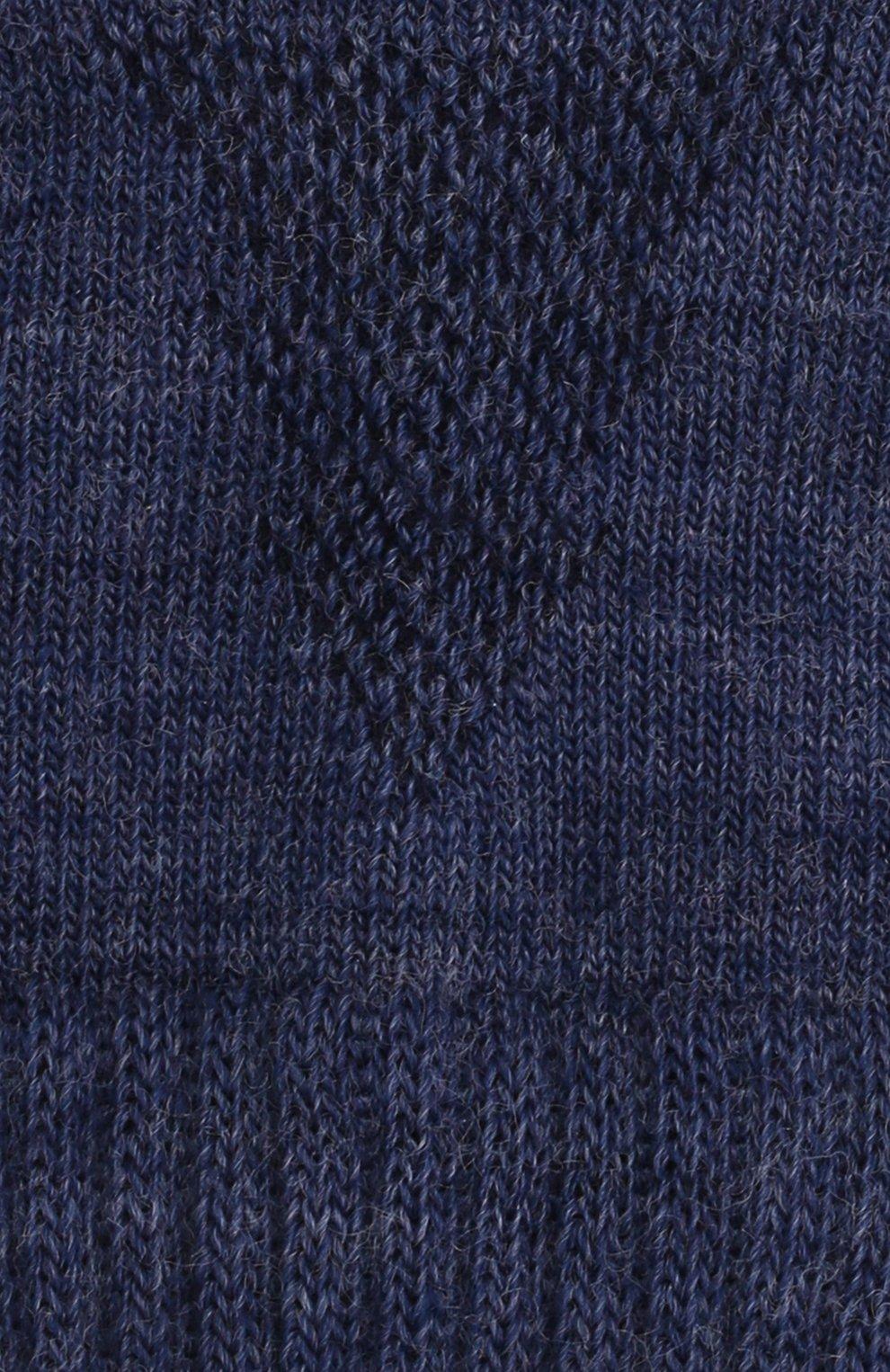 Детские шерстяные носки NORVEG голубого цвета, арт. 9CCURU-038 | Фото 2