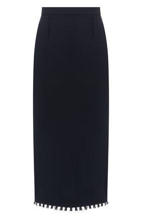 Шерстяная юбка-карандаш | Фото №1