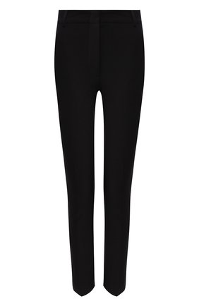 Женские брюки из смеси хлопка и вискозы JOSEPH черного цвета, арт. JP000322 | Фото 1