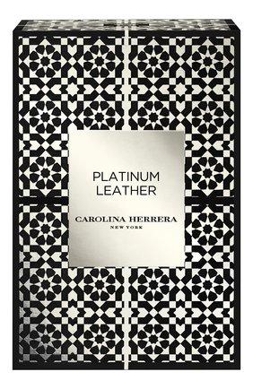 Парфюмерная вода confidential platinum leather CAROLINA HERRERA бесцветного цвета, арт. 65133038 | Фото 2