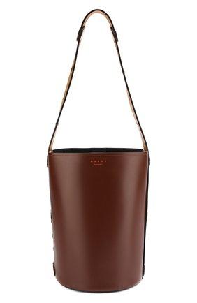 Сумка Punch  Marni коричневая цвета | Фото №1