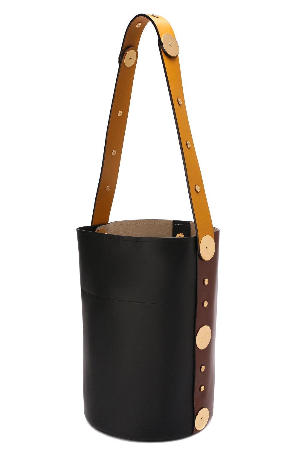 Сумка Punch  Marni коричневая цвета | Фото №3