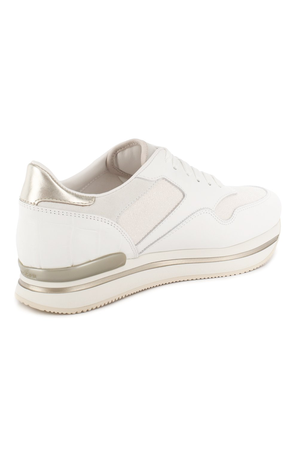 Комбинированные кроссовки | Фото №4