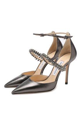 Кожаные туфли Bobbie 100 | Фото №1