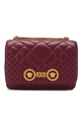 Женская сумка icon VERSACE бордового цвета, арт. DBFG478/DNATR2 | Фото 1