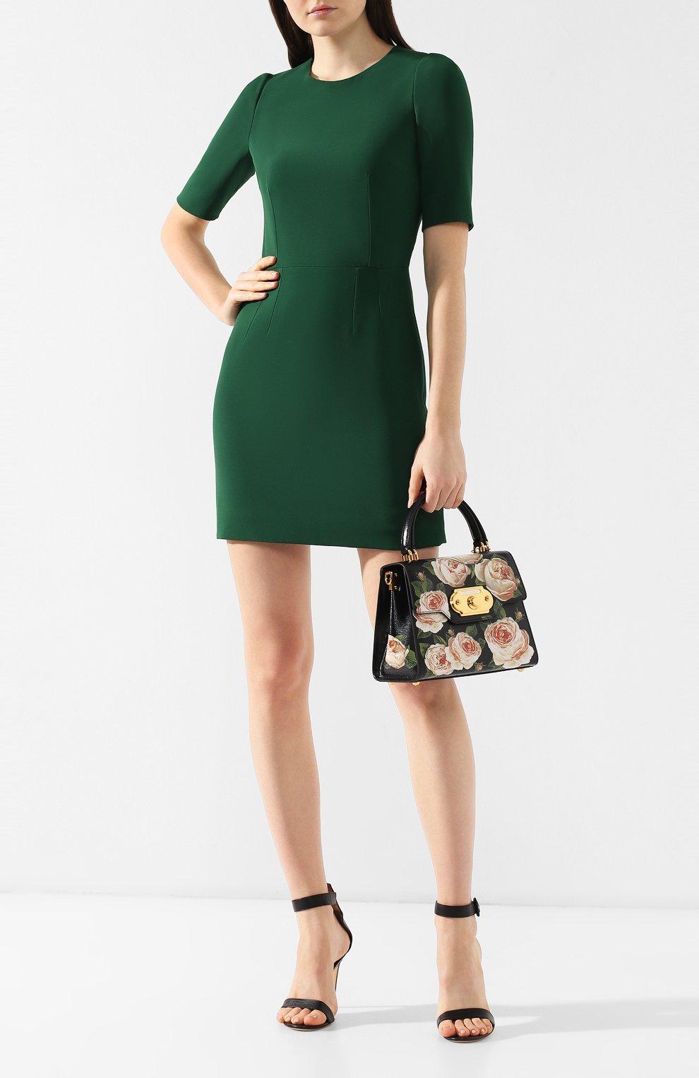 Сумка Welcome medium Dolce & Gabbana черная цвета | Фото №2