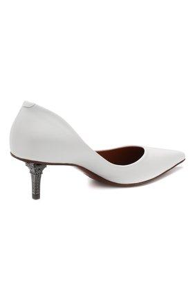 Кожаные туфли Vetements белые | Фото №4