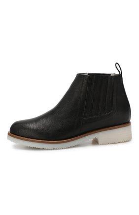 Кожаные ботинки Baldan черные | Фото №3