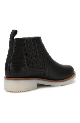 Кожаные ботинки Baldan черные | Фото №4