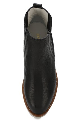 Кожаные ботинки Baldan черные | Фото №5