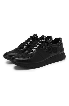 Комбинированные кроссовки Allie | Фото №1