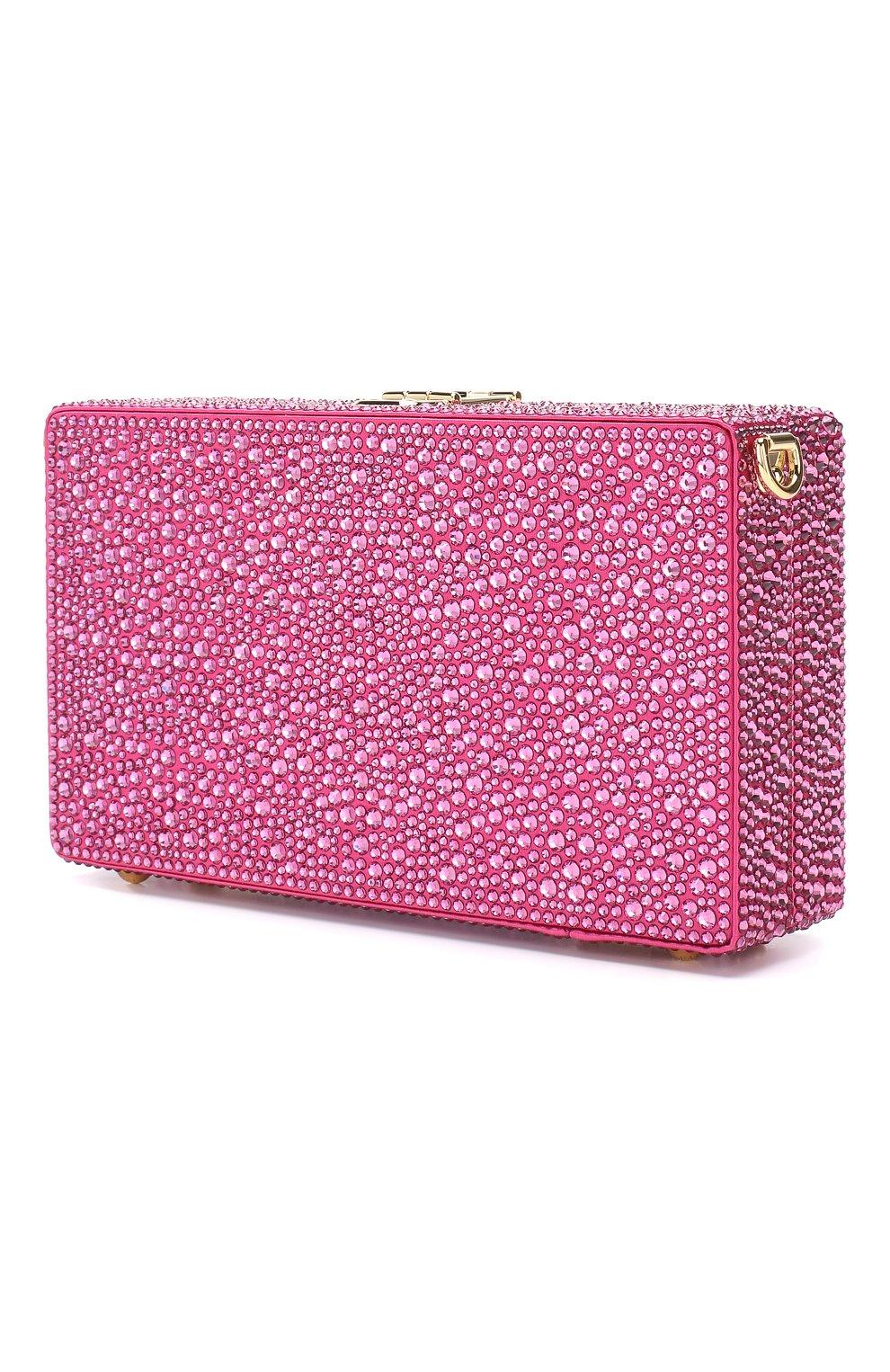 Клатч Dolce Box Dolce & Gabbana фуксия цвета | Фото №3