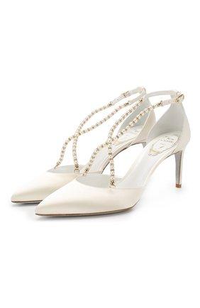 Туфли Eliza из сатина | Фото №1