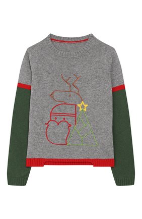 Пуловер с вышивкой | Фото №1
