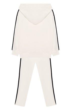 Комплект из хлопкового кардигана и брюк | Фото №2