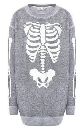 Пуловер с принтом   Фото №1