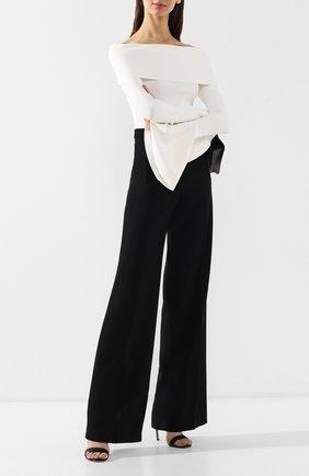 Женские расклешенные брюки ROLAND MOURET черного цвета, арт. PS19/S5125/F2241 | Фото 2