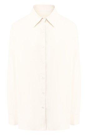 Блузка из смеси льна и вискозы | Фото №1