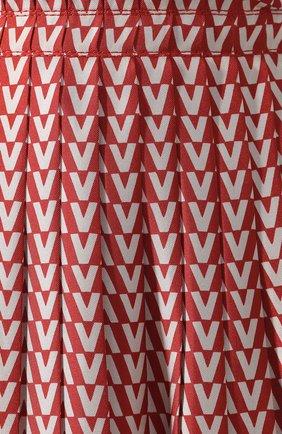 Шелковая юбка Valentino красная | Фото №5