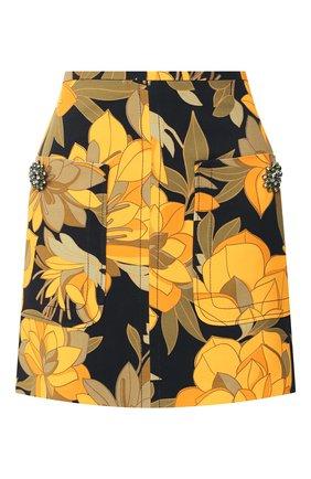 Мини-юбка с принтом | Фото №1
