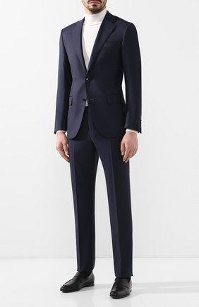 Мужской шерстяной костюм CORNELIANI темно-синего цвета, арт. 837268-9117087/92 Q1 | Фото 1